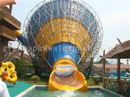 Long Swimming Pool Aqua Park Equipment Fiberglass Surf Wave Pool Water Slide