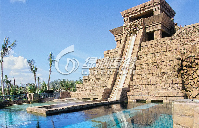 Slope Speed Fiberglass Water Slides Outdoor for Thrilling Water Playground Equipment