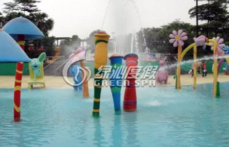 Commercial water park equipme Cartoon Spout Spray for Children Playground Water Pool Aqua Play